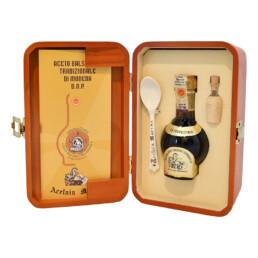Aceto Balsamico Tradizionale di Modena D.O.P. Extravecchio – Confezione Legno