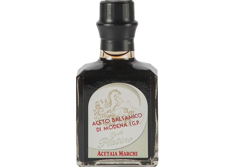 Bottiglia di Aceto balsamico di Modena IGP Sigillo Platino