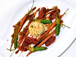 acetaia-brands-recipes-with-balsamic-vinegar-of-modena-main-courses-side dishes-vegetables-with-scallops